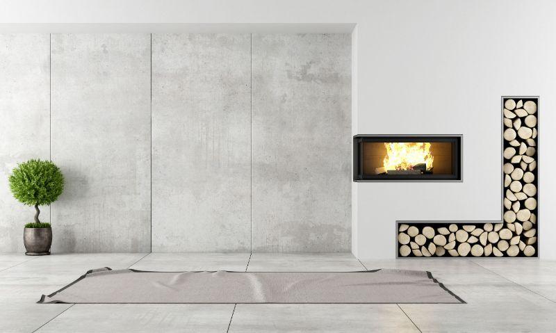 Moderne Kamine und Pelletöfen