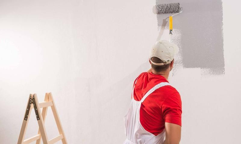 Malerei - Wandfarben innen und außen