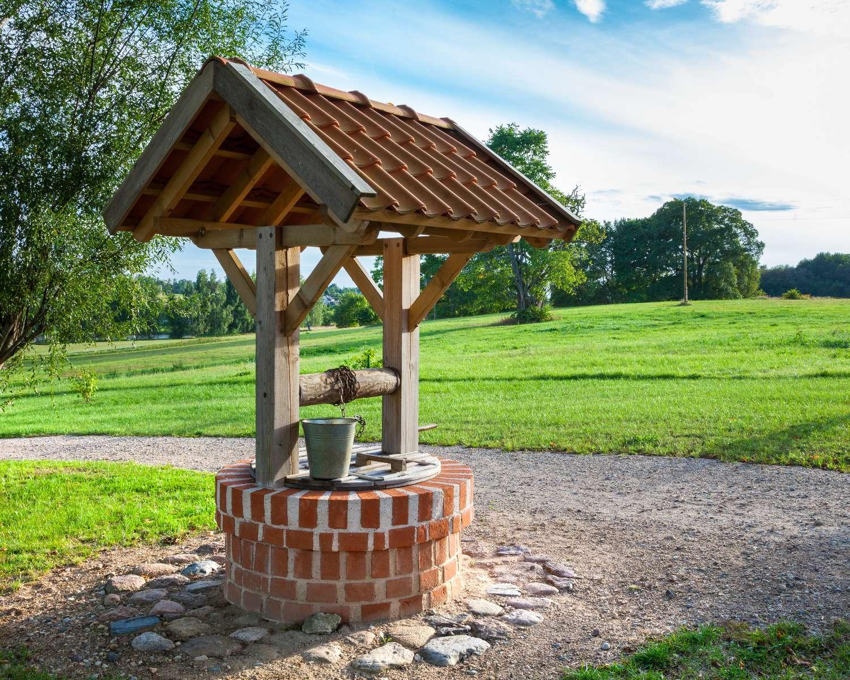Brunnenbau: die häufigsten Brunnentypen