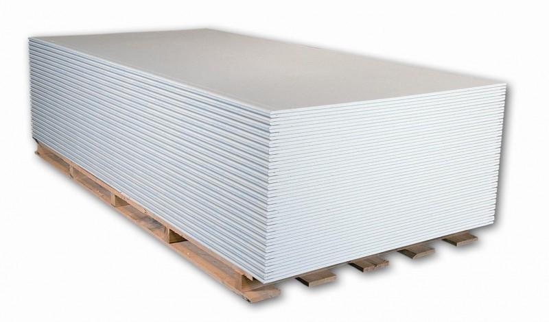 Trockenbauplatten: Gipskartonplatte, Feuchtraumplatte und Gipsfaserplatte