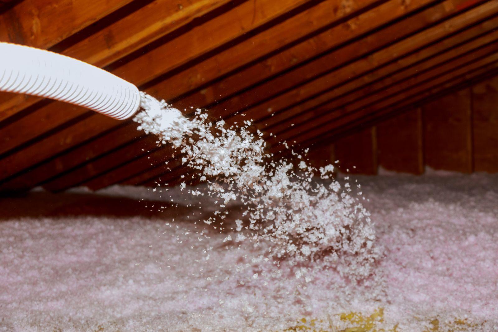 Einsatzmöglichkeiten für die Einblasdämmung im Dachbereich