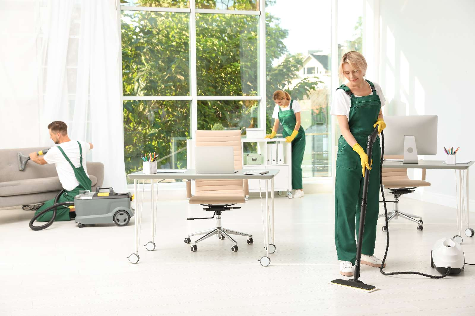 Unterhaltsreinigung: regelmäßige Reinigung von Objekten aller Art