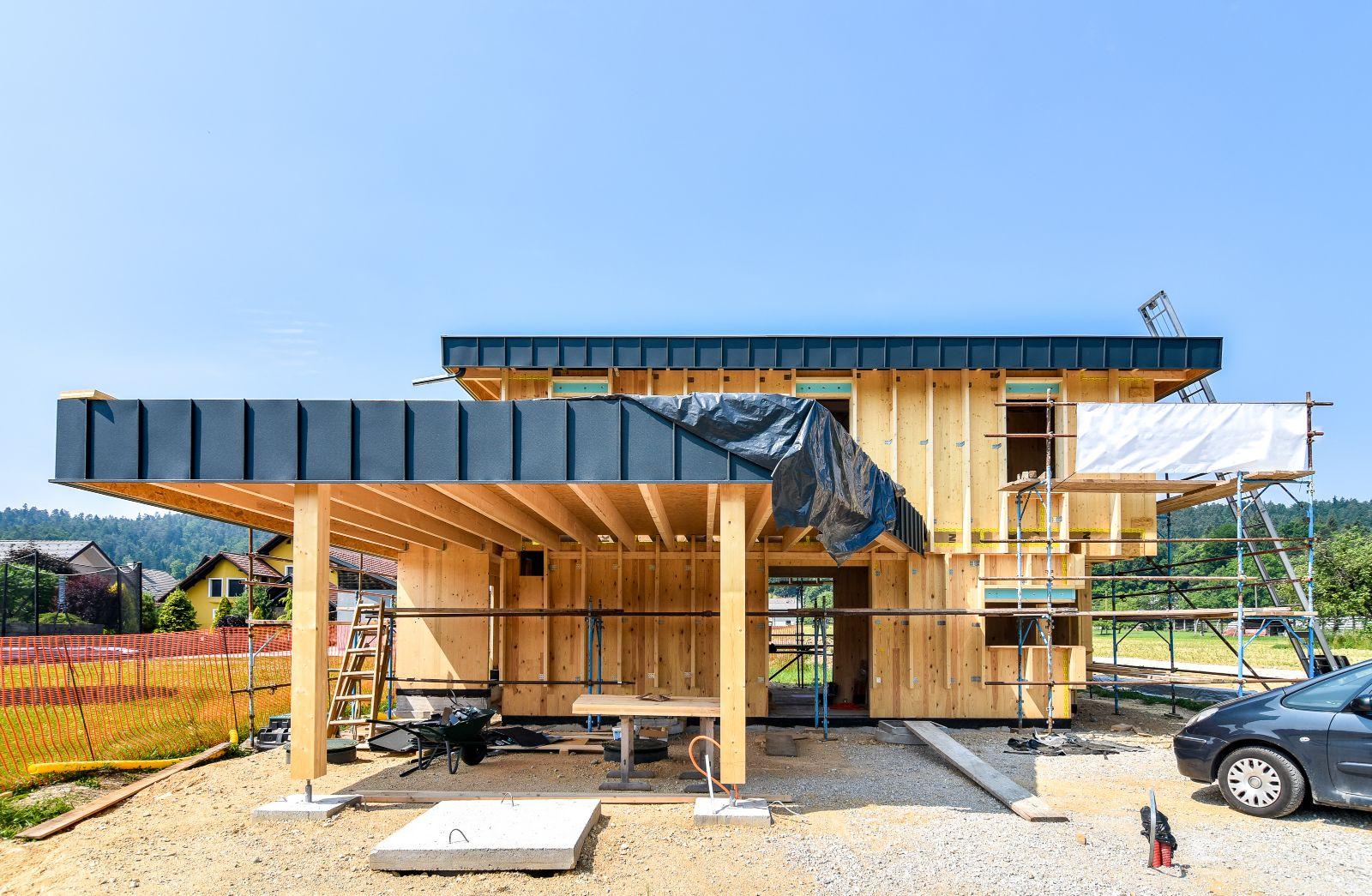 Holzriegelbau – modern und ökologisch