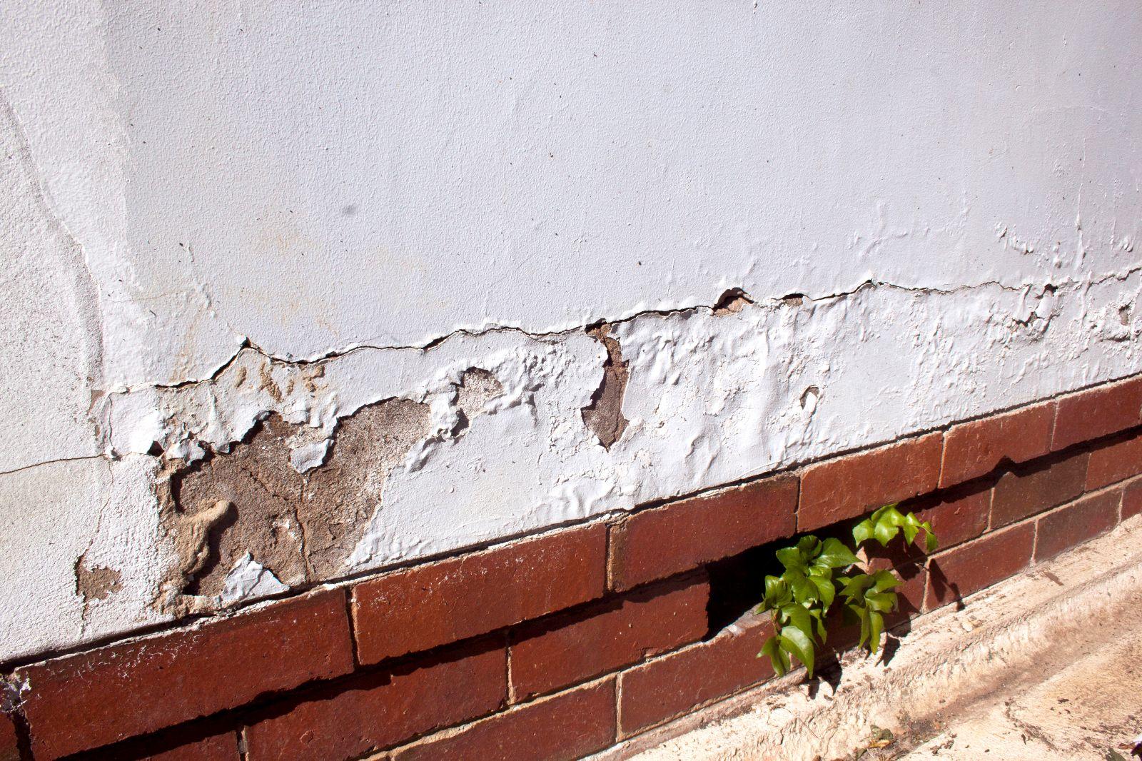 Mauertrockenlegung nach mechanischem Verfahren