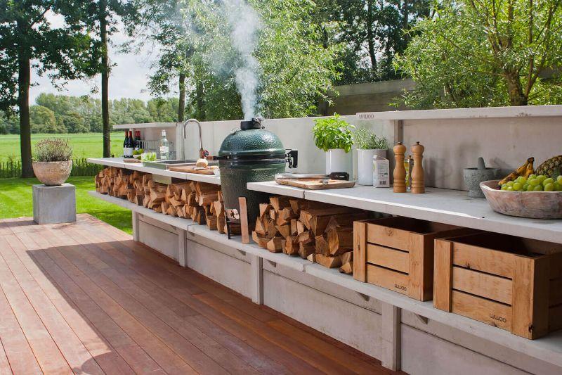 Outdoorküche – der Weg zur eigenen Außenküche