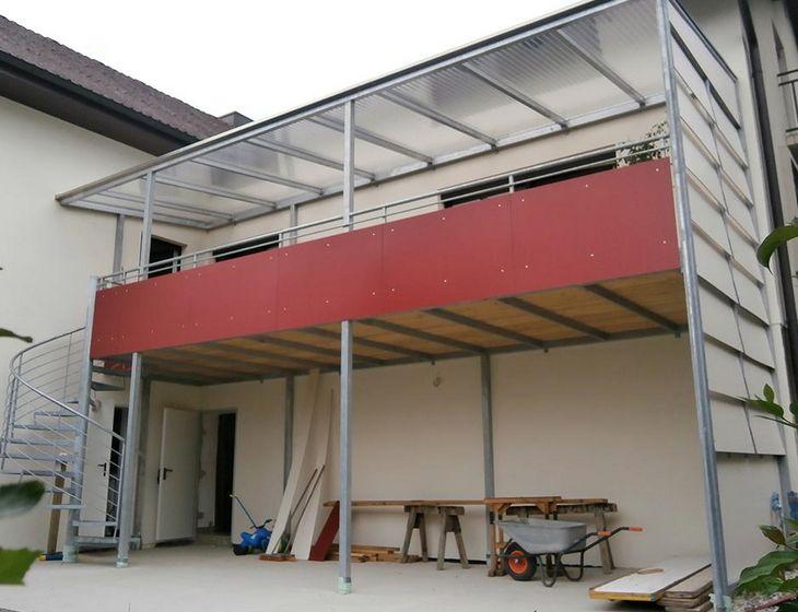 Balkongelander Treppengelander Oberosterreich Seyr Fahrzeugbau