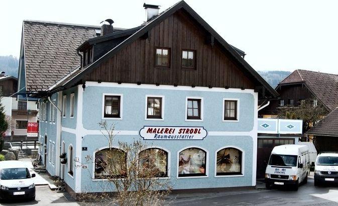 Raumausstatter Salzburg franz strobl fassaden malerei anstrich innenraumdekor