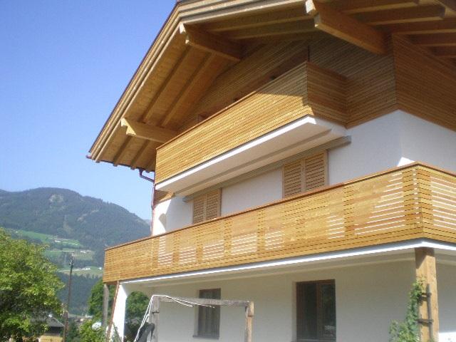 Holzbalkon Und Fassade Tirol Franz Lechner Bau Gmbh